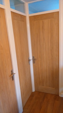 Interior doors paul burrell joinery home improvements for Exterior doors fitted